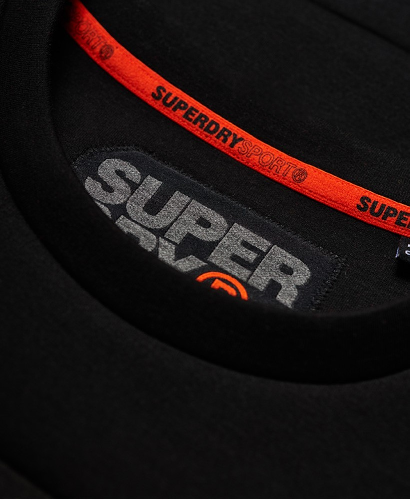 Superdry M Gym Tech Cut Crew