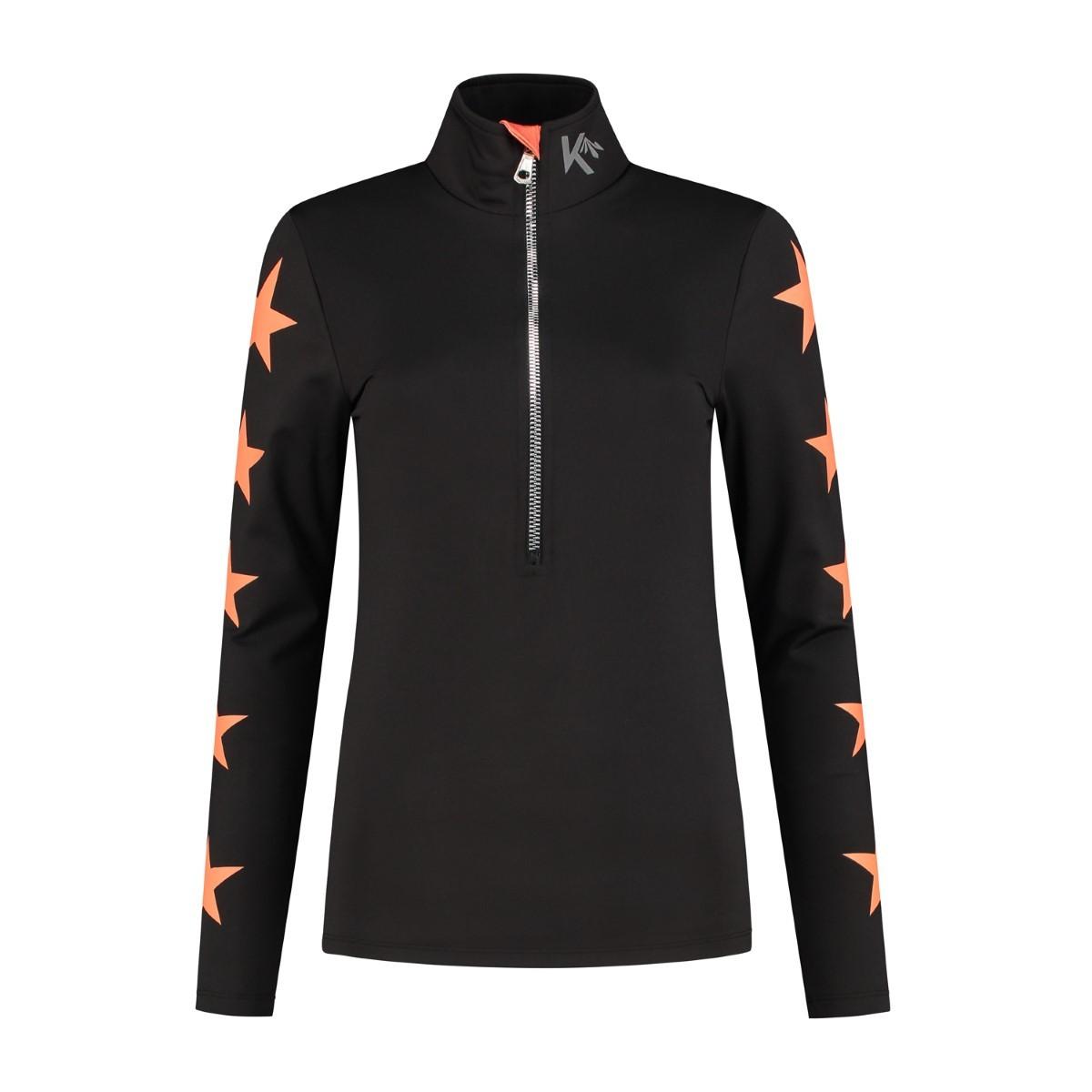 Kou Sportswear 2nd layer pully Orange.com Stars