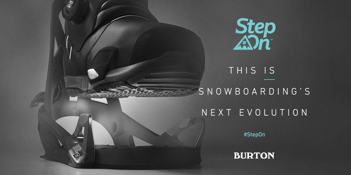 Burton Step On - vanaf november beschikbaar bij Duijvestein Wintersport