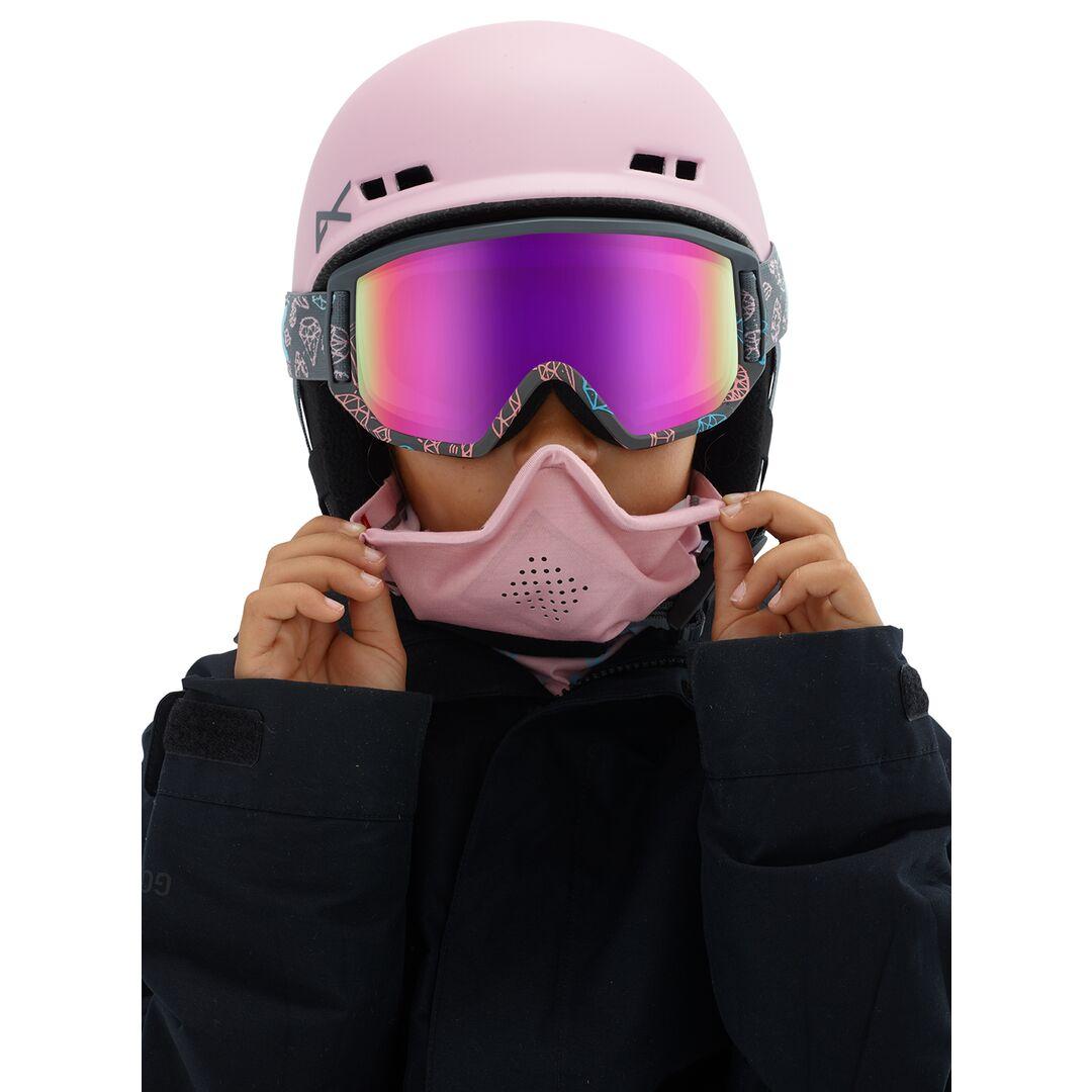 Anon Relapse Jr Mfi Bling_Pink Amber Zwart One