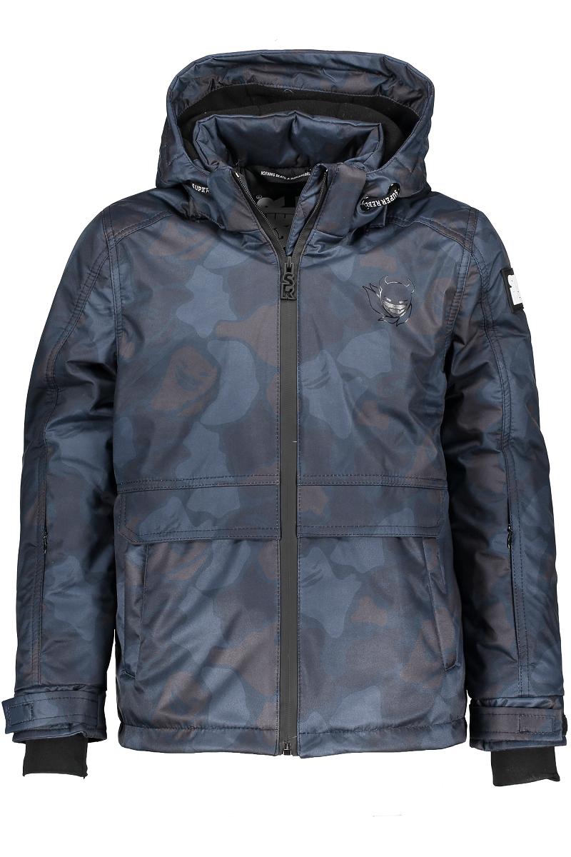 Superrebel Ski technical jacket all-over
