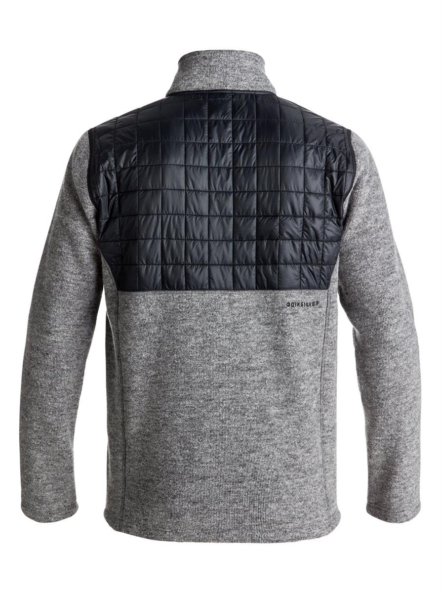 Quiksilver M Into The Wild Fleece Fullzip Vest