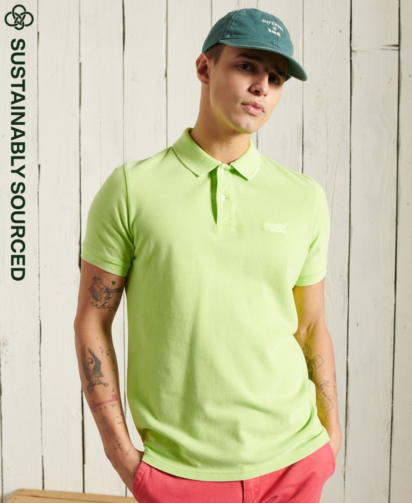 Superdry S_S Vintage Destroyed Polo 2021