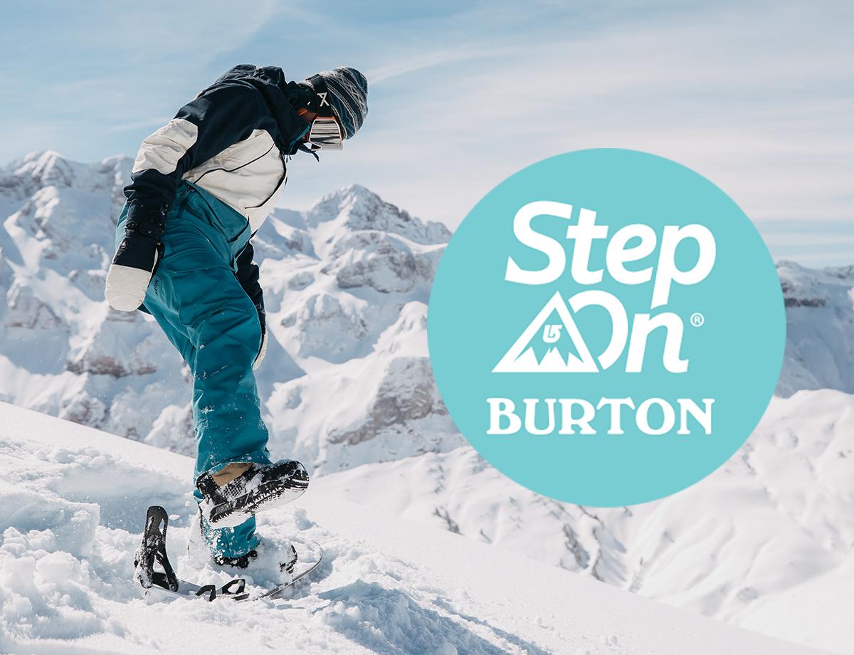 NIEUW BINNEN: Burton Step On!