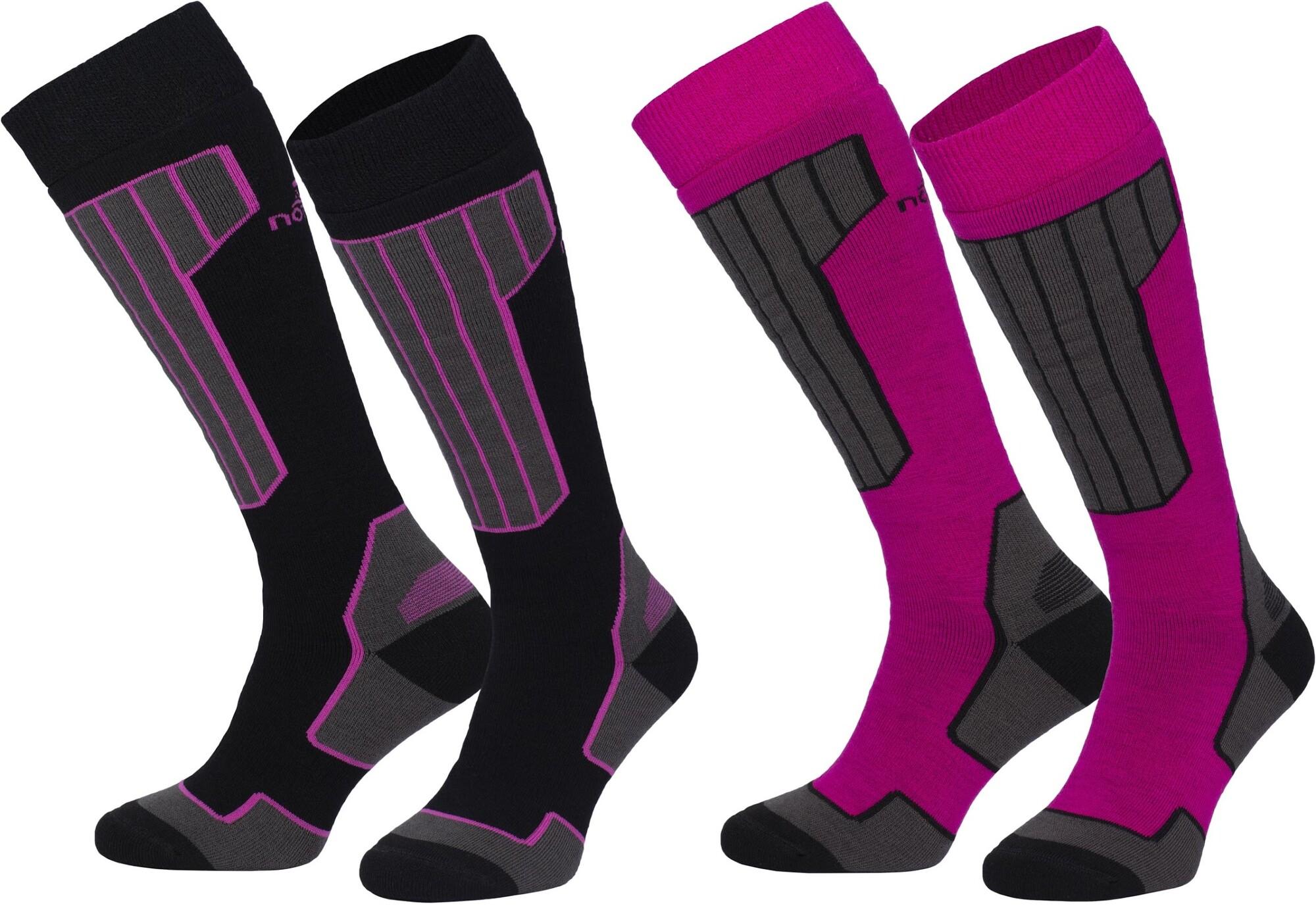 Nomad 2-pack ski sock