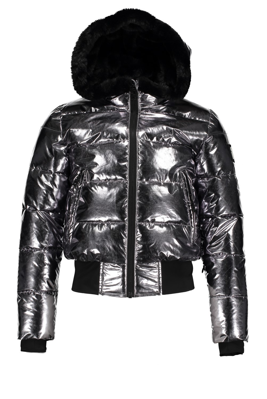 Superrebel G Basic Metalic Girls Ski Jacket - R009-5286