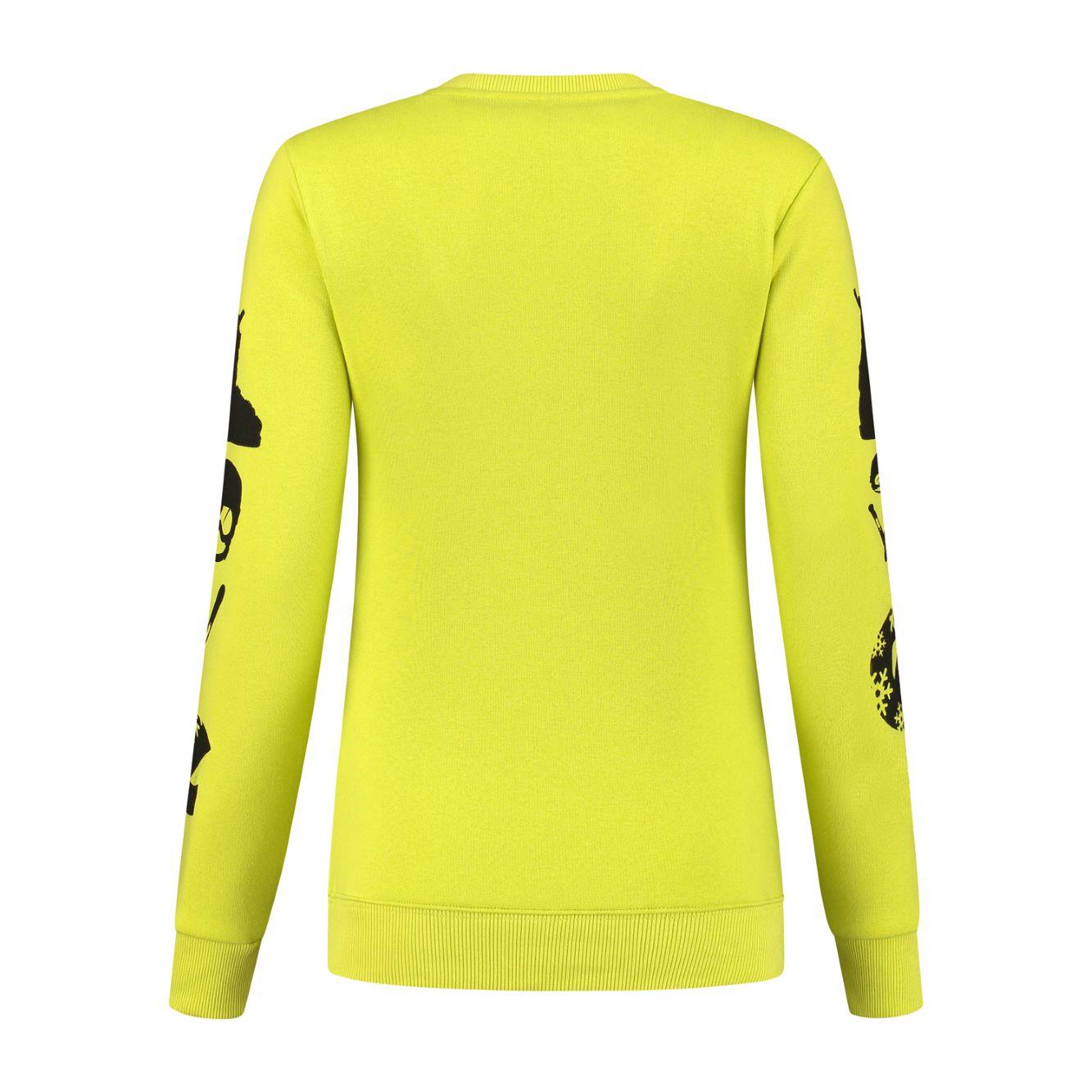 Kou Sportswear Sweater Love Neogreen 2021