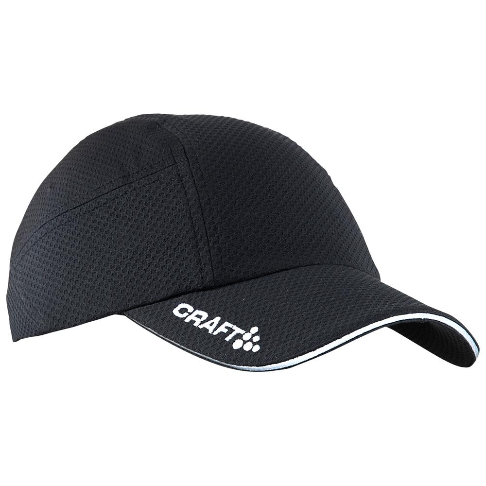Craft Run Cap Zwart ONE