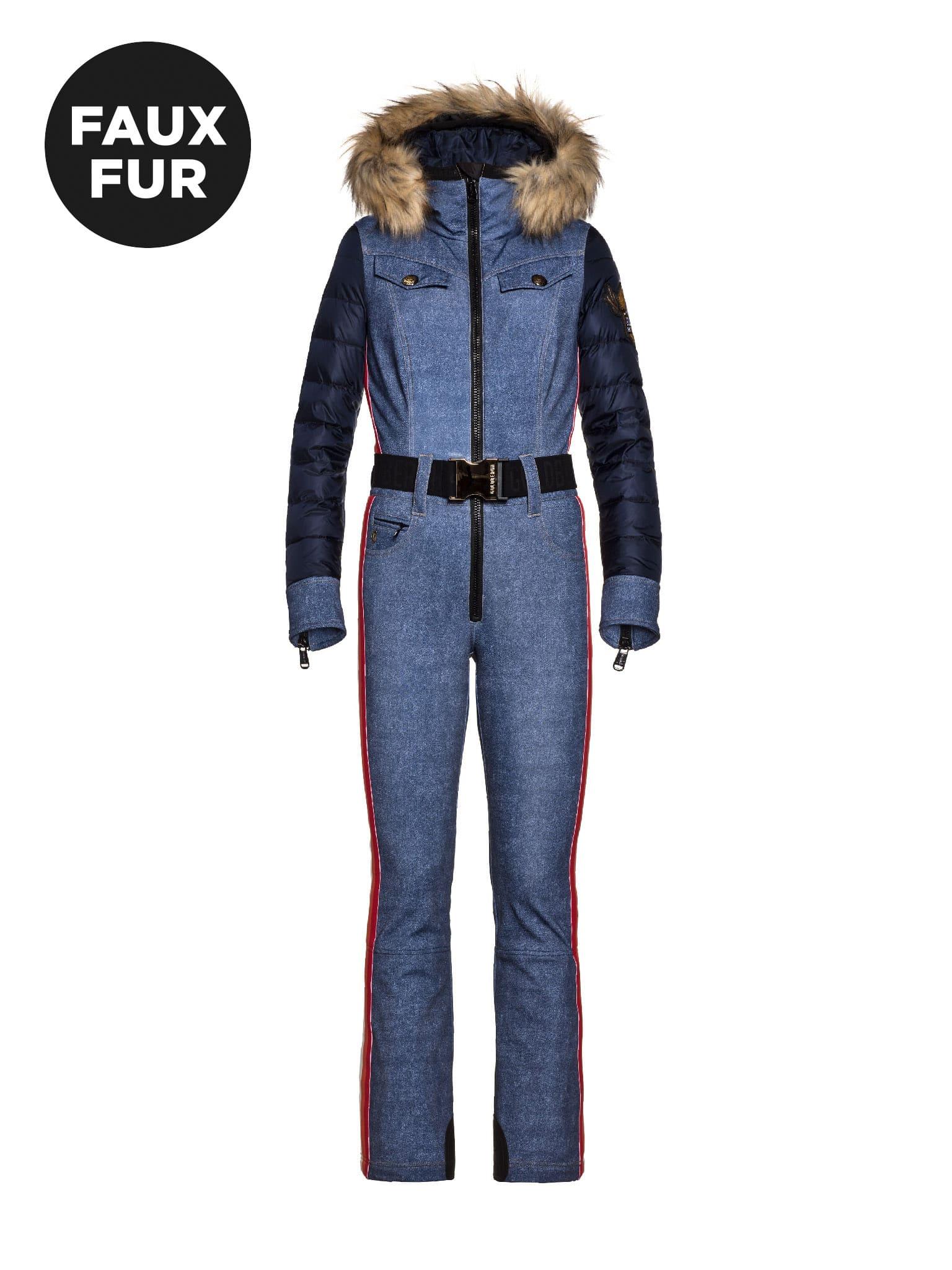 Goldbergh Longmont Ski Suit Faux Fur 2022