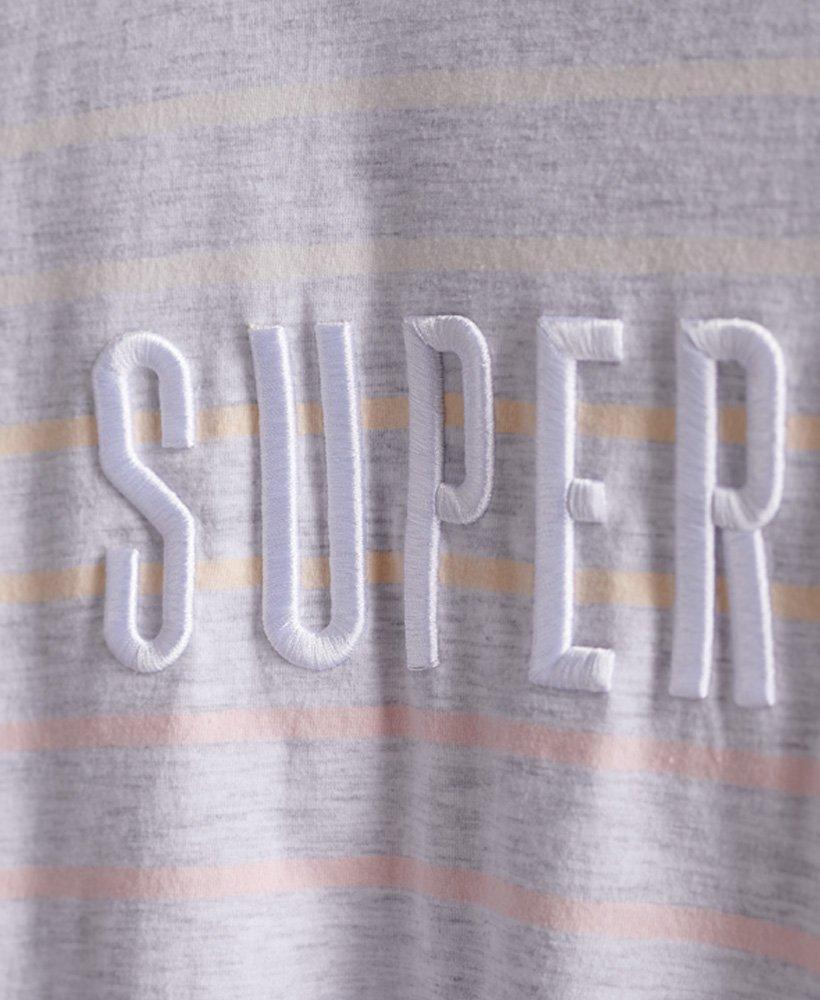 Superdry Sb Rainbow Stripe Entry Tee 2021