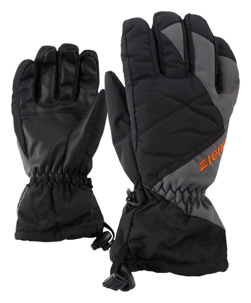 Ziener Y Agil As(R) Glove Junior Zwart 5